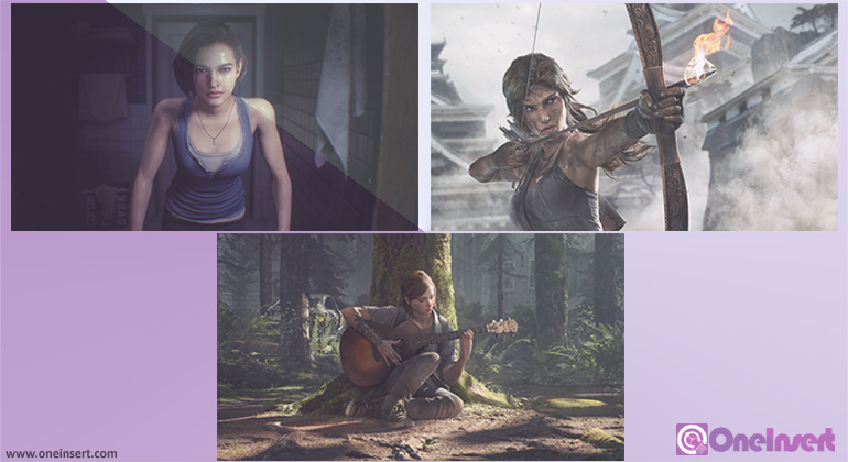 3 Karakter Wanita Versi Game Populer