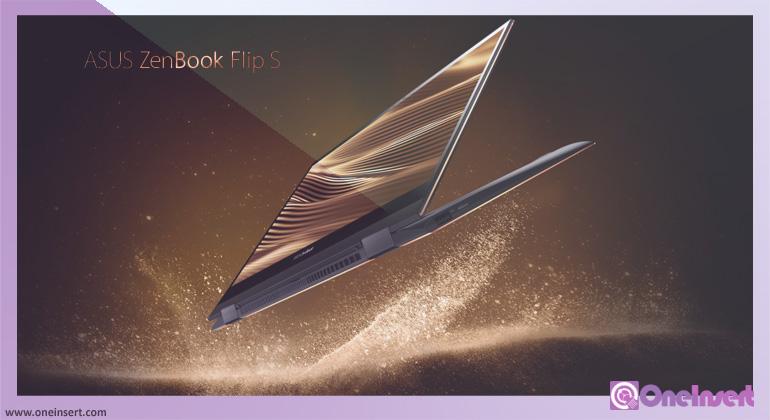 Laptop Premium ZenBook Flip S UX371 Dari Asus