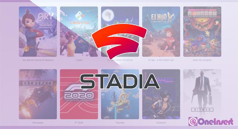 Stadia Platform Game Google